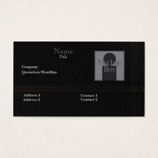 Nightfall Sun Decal Template Business Card