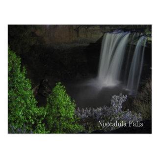 """""""Nightfall/Waterfall"""" - Noccalula Falls Postcard"""