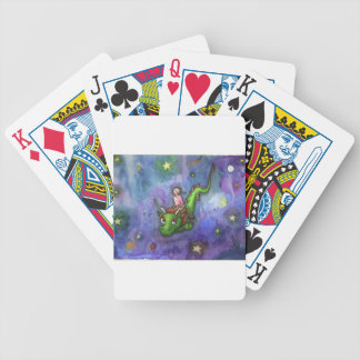 Nightflight Bicycle Playing Cards