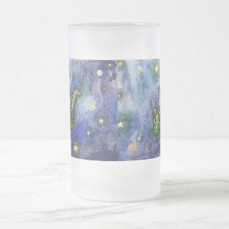 NightFlight Frosted Mug