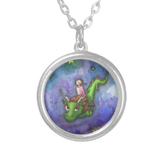 Nightflight Silver Plated Necklace