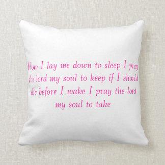 nightime prayer pillow