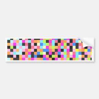 Nightlife (pixel funk) bumper sticker