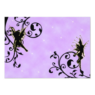 Nightlight Fairy Fantasy Birthday Invitation