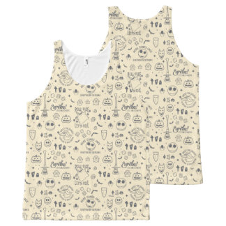 Nightmare Before Christmas   Everyday Is Halloween All-Over-Print Tank Top