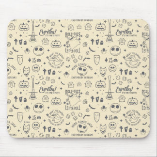 Nightmare Before Christmas   Everyday Is Halloween Mouse Pad