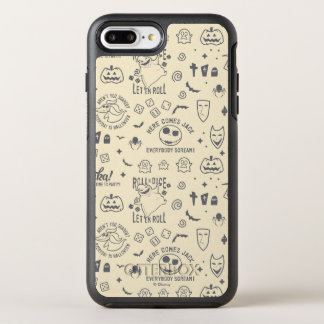 Nightmare Before Christmas | Everyday Is Halloween OtterBox Symmetry iPhone 8 Plus/7 Plus Case