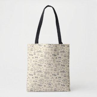 Nightmare Before Christmas | Everyday Is Halloween Tote Bag