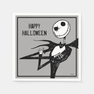 Nightmare Before Christmas Halloween Party Paper Napkins