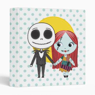 Nightmare Before Christmas | Jack & Sally Emoji Binder