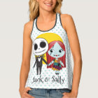 Nightmare Before Christmas | Jack & Sally Emoji Tank Top