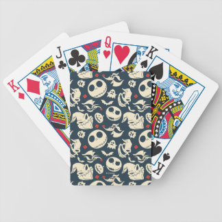 Nightmare Before Christmas | Oh What Joy - Pattern Bicycle Playing Cards