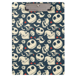 Nightmare Before Christmas | Oh What Joy - Pattern Clipboard