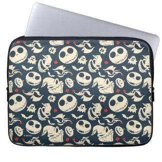 Nightmare Before Christmas | Oh What Joy - Pattern Laptop Sleeve