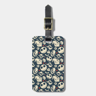 Nightmare Before Christmas | Oh What Joy - Pattern Luggage Tag