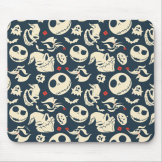 Nightmare Before Christmas | Oh What Joy - Pattern Mouse Pad