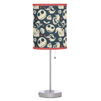 Nightmare Before Christmas | Oh What Joy - Pattern Table Lamp