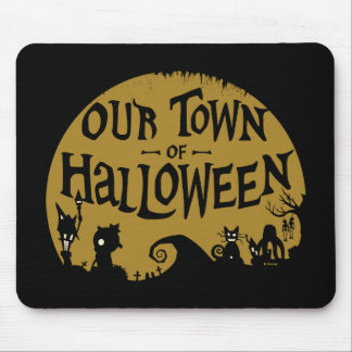 Nightmare Before Christmas | Our Town Of Halloween Mouse Pad