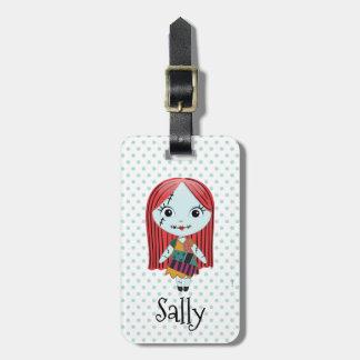 Nightmare Before Christmas | Sally Emoji Luggage Tag