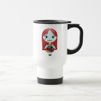 Nightmare Before Christmas | Sally Emoji Travel Mug