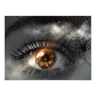 NIGHTMARE! (eye - spider - web) ~ Card