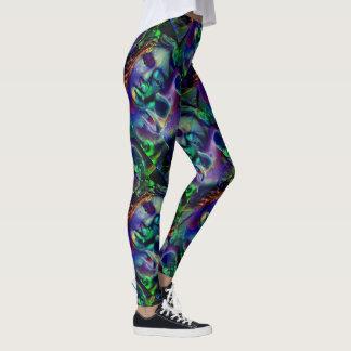 Nightmare Lavender Green Leggings