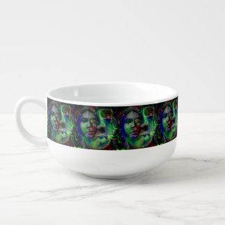 Nightmare Lavender Green Soup Mug
