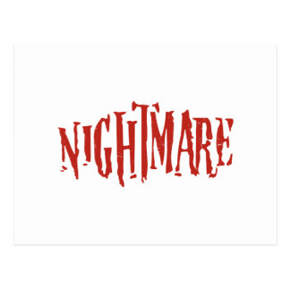 Nightmare Postcard