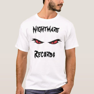 nightmare records reduced fame t shirt