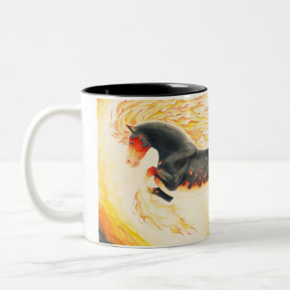Nightmare redesign Two-Tone coffee mug