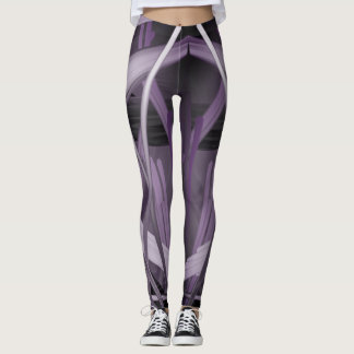 Nightmare Scribble Leggings