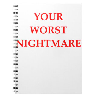 NIGHTMARE SPIRAL NOTEBOOK
