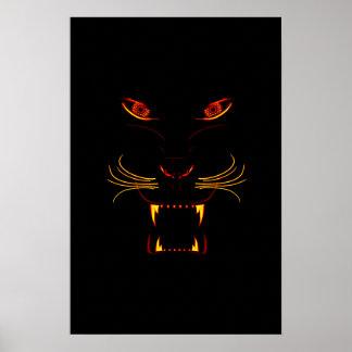 NightMinds - Panther's Heat Poster