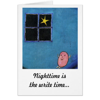 Nighttime Greeting Card