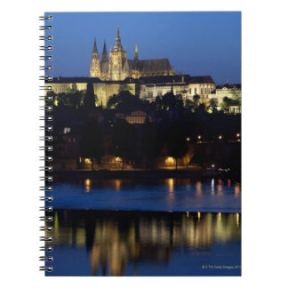 Nighttime in Prague, Czech Republic Notebooks
