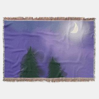 Nighttime Magic - Throw Blanket