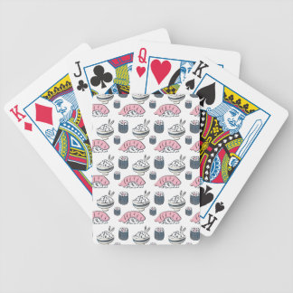 Nigiri Sushi Bicycle Playing Cards