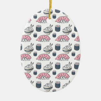 Nigiri Sushi Ceramic Ornament