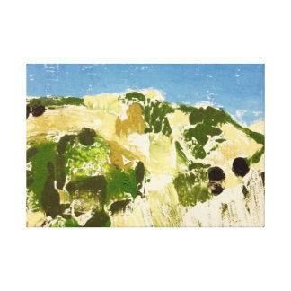 Niguelas, Andalucia (1) Canvas Print