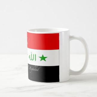 Nihad Mug - Old Iraq Flag