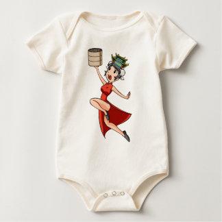 nihao English story Yokohama Kanagawa Yuru-chara Baby Bodysuit