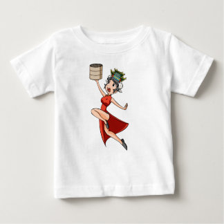 nihao English story Yokohama Kanagawa Yuru-chara Baby T-Shirt