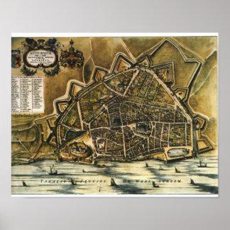 Nijmegen - 1652 poster