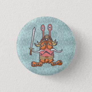 NIKANIKA (holding national heaven ver) 1 Inch Round Button