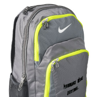 Nike Bookbag - Performance Means Everything