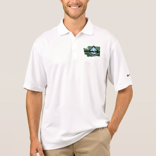 Nike Dri fit state logo Polo Shirt