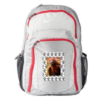 """Nike Performance Backpack: KANJI """"LOVE"""" & HAWK Backpack"""