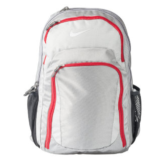 Nike Performance Backpack, Wolf Grey/Gym Red Backpack