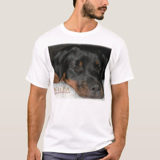Nikita the Rottweiler asleep T-Shirt