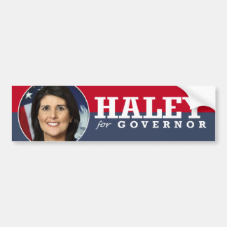 NIKKI HALEY CAMPAIGN BUMPER STICKER